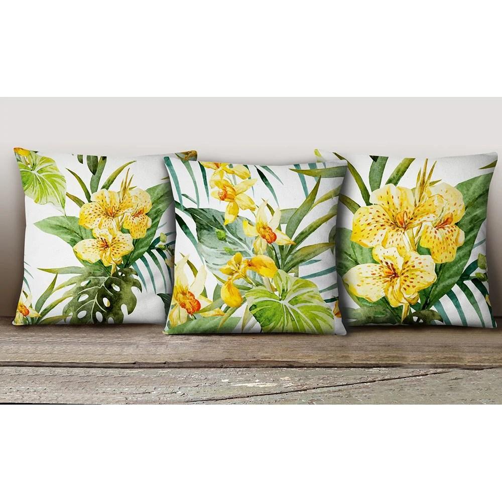 Set 3 federe decorative per cuscino 45x45  Boutique del