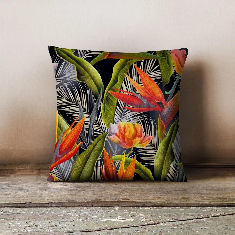 Federa decorativa per cuscino 45x45 floreale  Boutique