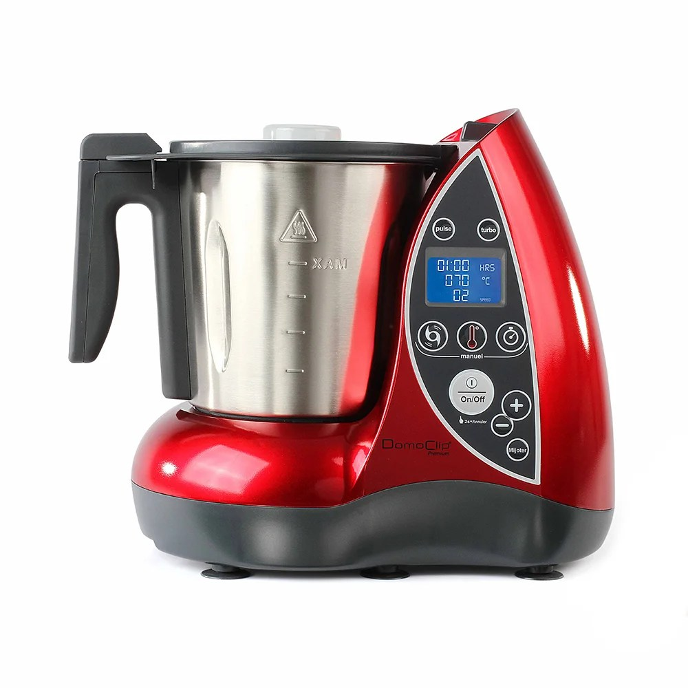 Robot da cucina per cucinare rosso  Fresh Design Delta