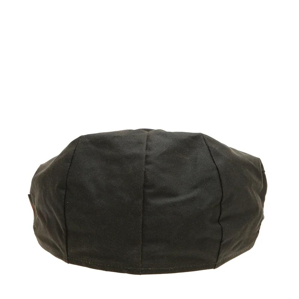 Cappello modello a coppola verde oliva  Barbour