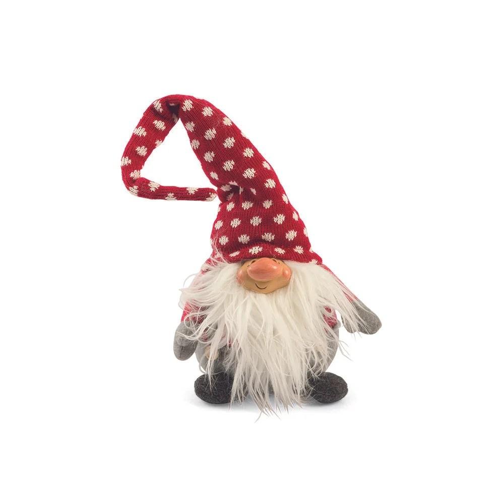Gnomo con cappello a pois ELF piccolo  Villa dEste Natale  Acquista su Ventis