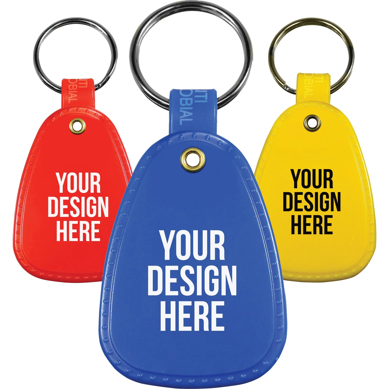 custom keychains quality logo