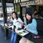 こちらのお二人は「ペーパードライバーで、ほぼ初めてのドライブなんです」と仰る、仲良しのお嬢さんたちです️ 楽しい一日になります様にご来店ありがとうございました http://ikadamitake.com#炭鳥 #蔵 #筏 #ikada #Tokyo #mitake #御岳 #御岳山 #mitakesan #御岳山ロックガーデン #武蔵御嶽神社 #多摩川 #御岳渓谷 #奥多摩フィッシングセンター #奥多摩 #ブドウ山椒 #おにぎり #味玉 #tasty #バイク #ロードバイク #カヌー #カヤック #リバーSUP #デッドエンド #ジムニー #ペット可 #奥多摩ドライブ