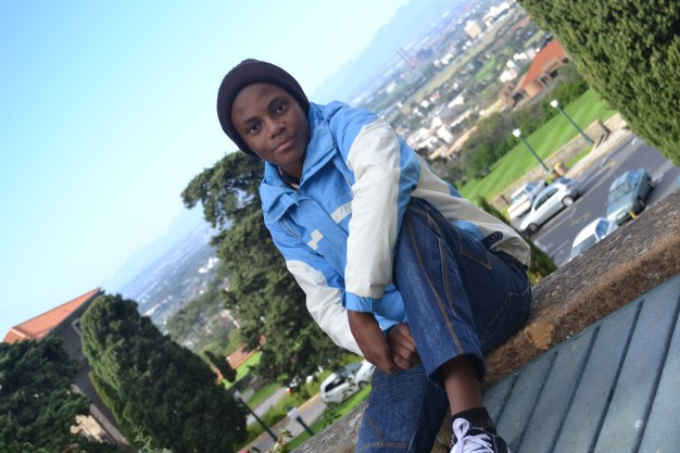 """Name: Sinesipho (14) Chris Hani Highschool """"Sineshipo loves reading, he sees himself as the future of education and he loves drawing"""""""