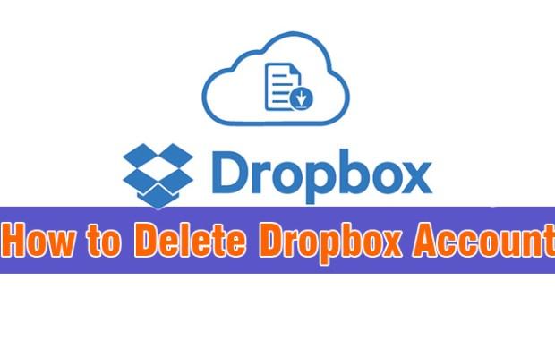 How to Delete Dropbox Account