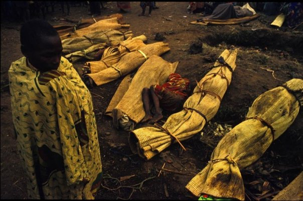 Hutu refugees have been killed as animals