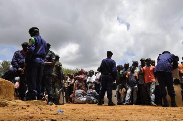 La population de Beni manifeste et se plaint de la complicité des FARDC avec l'ennemi