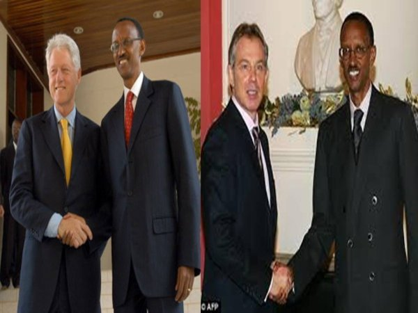 kagame et friends