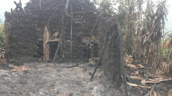 Kananira refugee camp destroyed by FARDC/RDF.