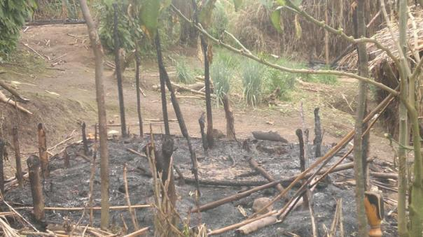 The refugee camp of Kananira burned down by FARDC/RDF