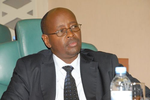 James Musoni, the Home affairs minister