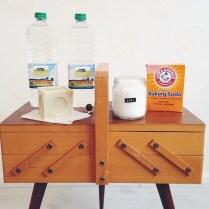 zelf schoonmaakmiddel maken