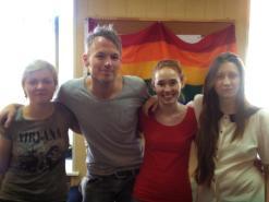 Interview met LGBT-organisatie Coming Out in St. Petersburg.