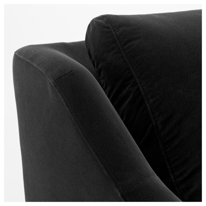 1 cover for the frame, 1 cover for the seat cushion, 2 covers for the back. FARLOV 3-seat sofa, Grey | IKEA Greece