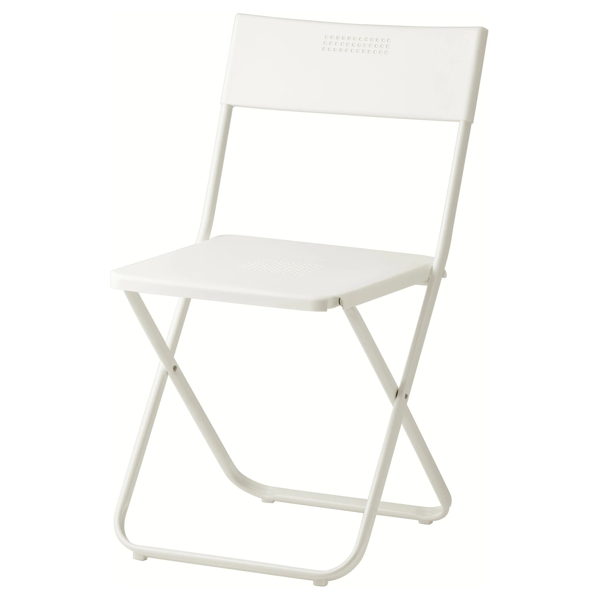 Small Fold Up Chair Fejan Chair Outdoor White Foldable White