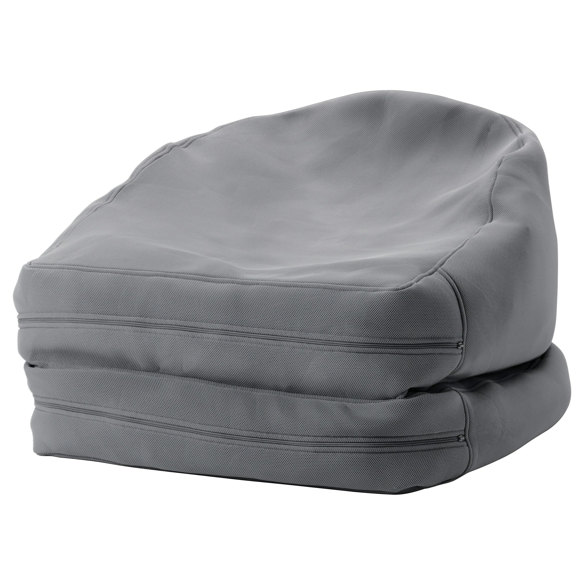 Mini Bean Bag Chair Bussan Beanbag In Outdoor Grey