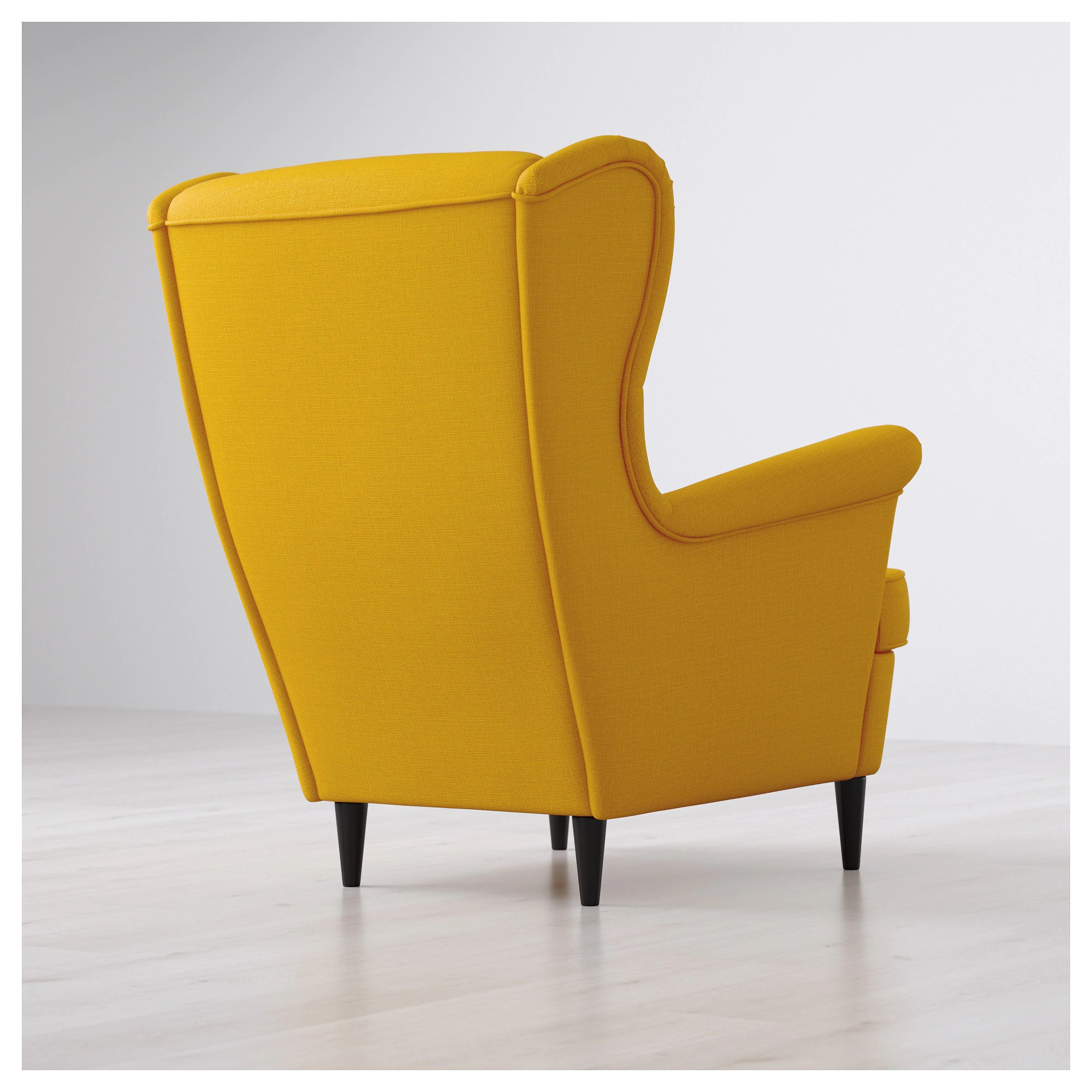 Wing Chair Strandmon Wing Chair Skiftebo Yellow