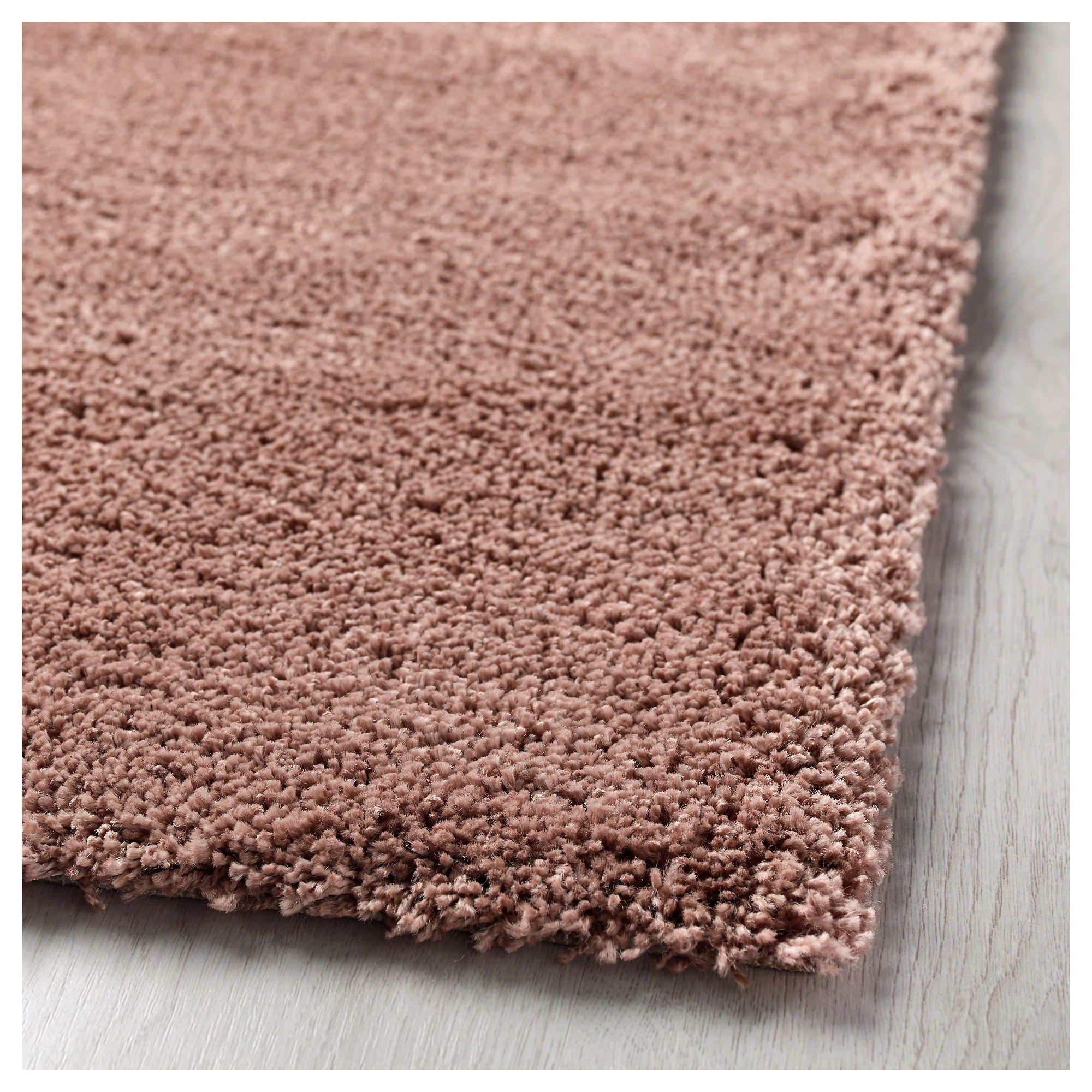 Ikea Teppich Adum Rosa Ådum Rug High Pile Light Brown Pink