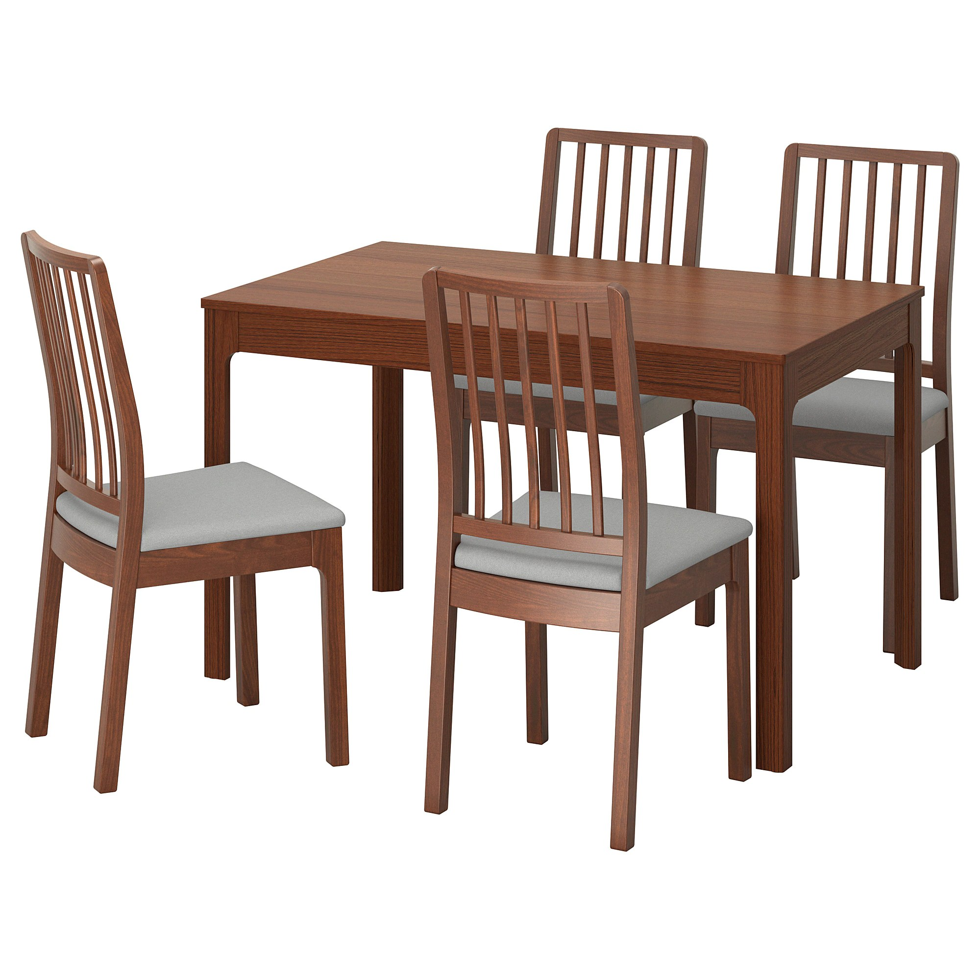 Table With Chairs Ekedalen Ekedalen Table And 4 Chairs Brown Orrsta Light Grey