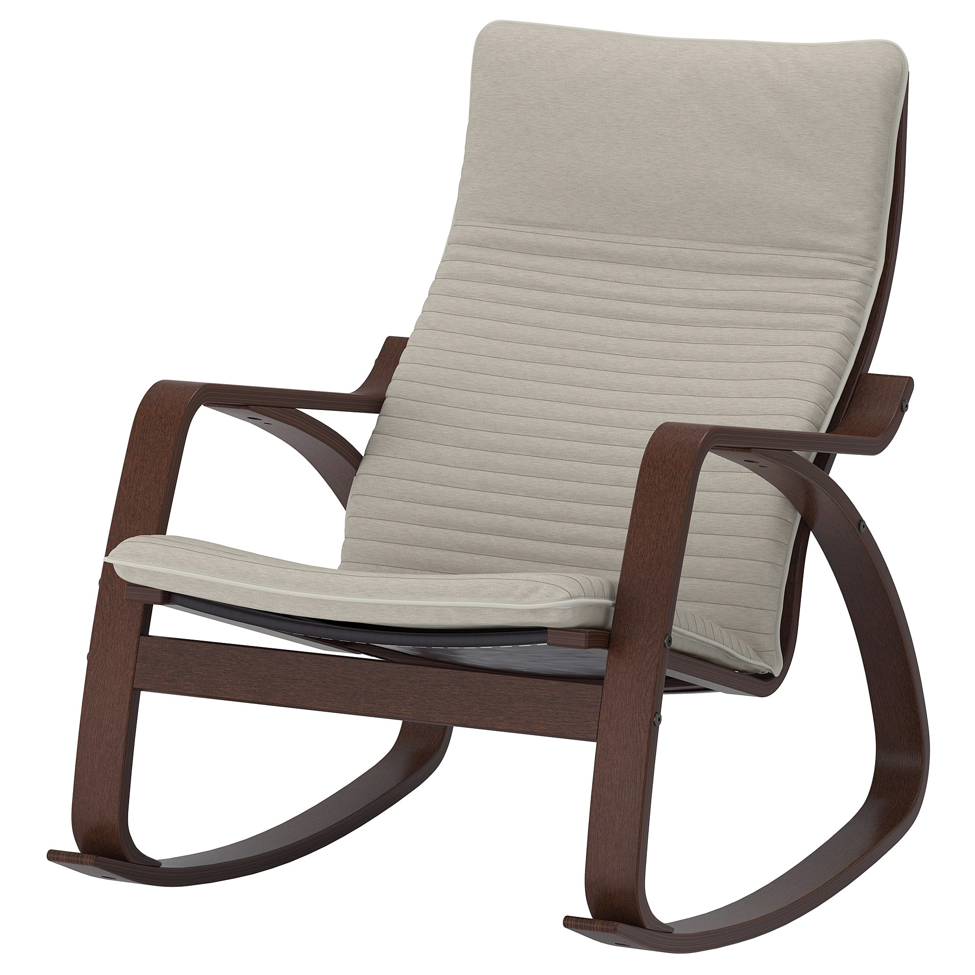 Cheap Rocking Chairs Rocking Chair PoÄng Brown Knisa Light Beige