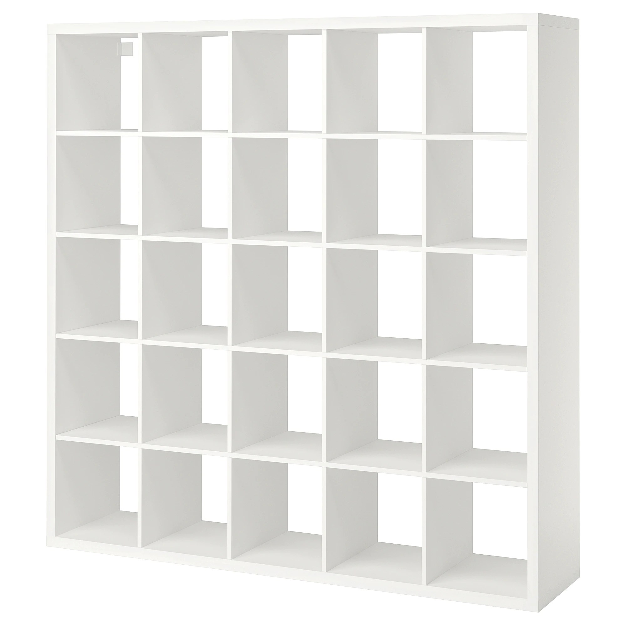 Wit Hoekbureau Ikea.Ikea Expedit Laden Built In Ikea Bookshelf Full Wall 8 Steps With