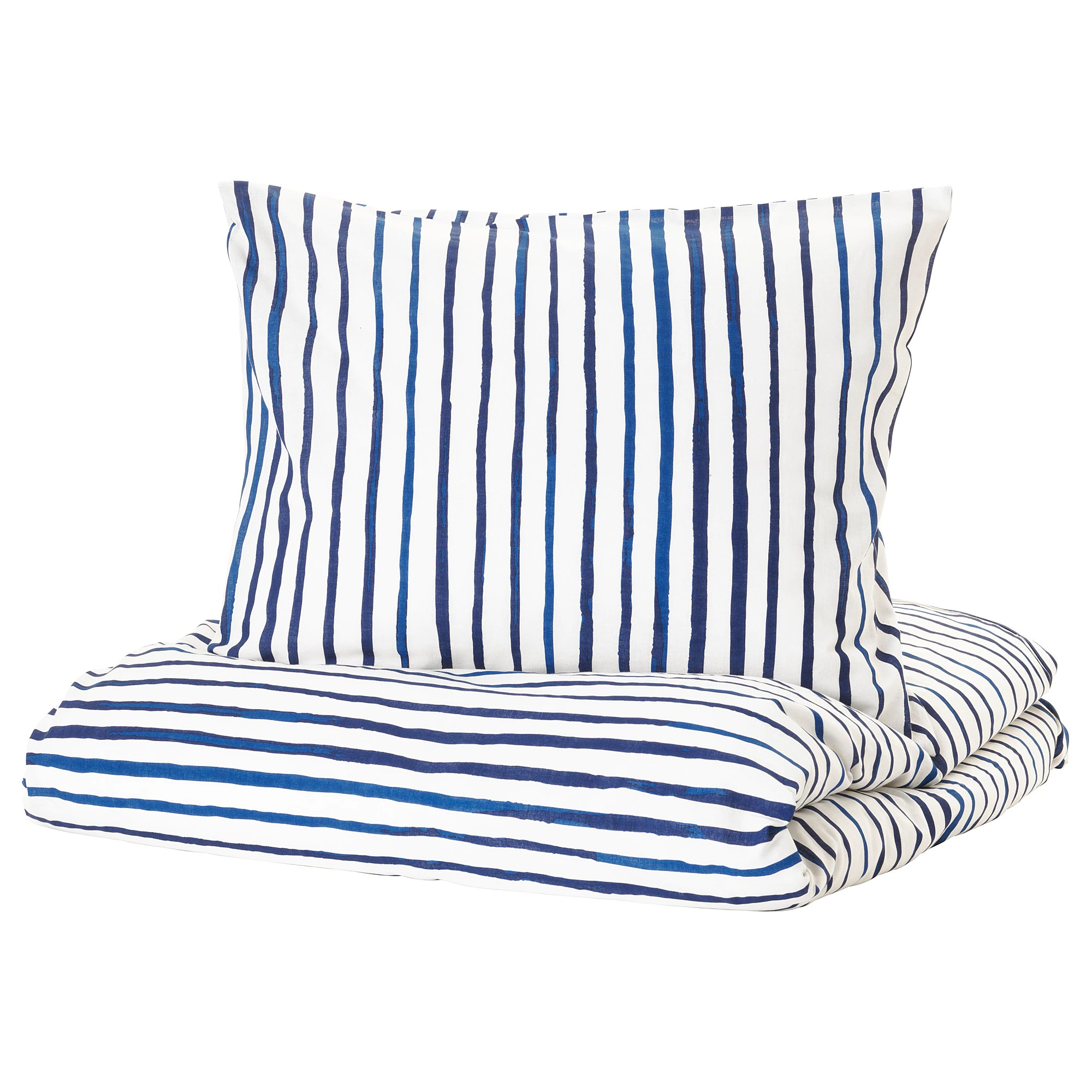 Blue And White Striped Chair Quilt Cover And Pillowcase SÅnglÄrka Striped Blue White