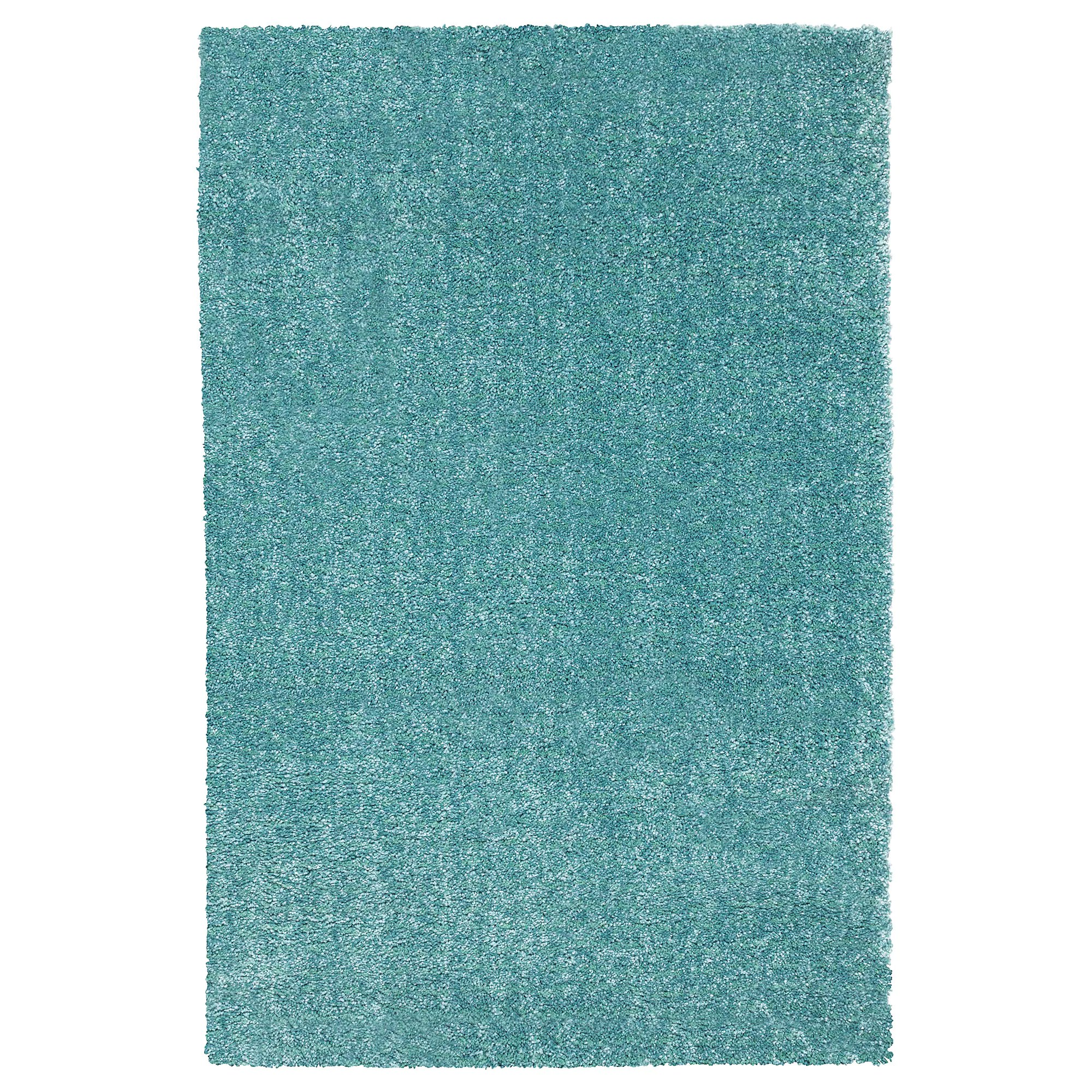 Ikea Teppich 2014 Langsted Rug Low Pile Turquoise