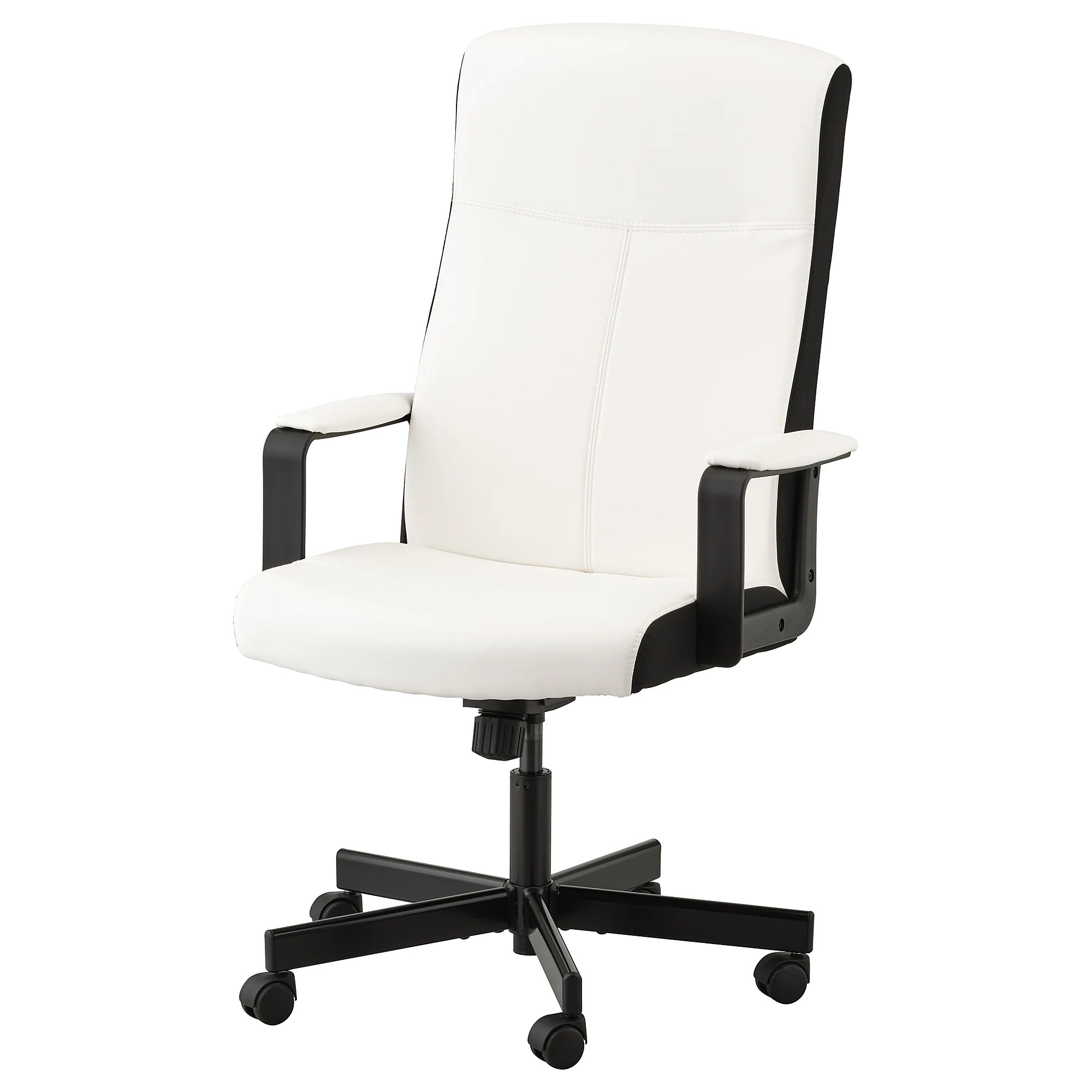How To Adjust Office Chair Millberget Swivel Chair Kimstad White