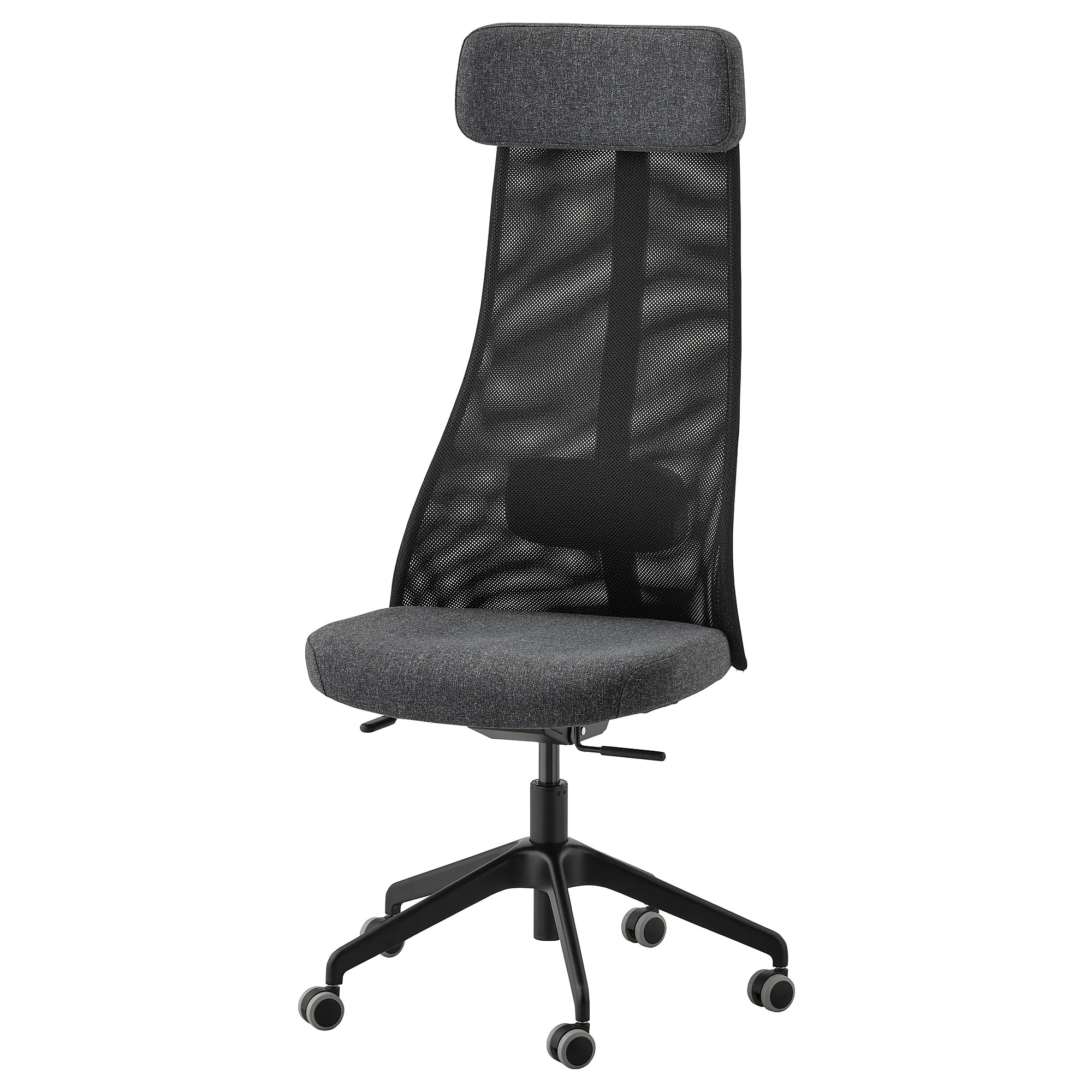How To Adjust Office Chair JÄrvfjÄllet Office Chair Glose Black