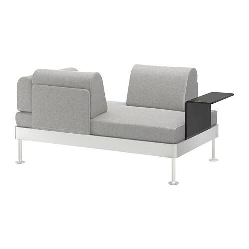 DELAKTIG 2er-Sofa mit Ablage - IKEA