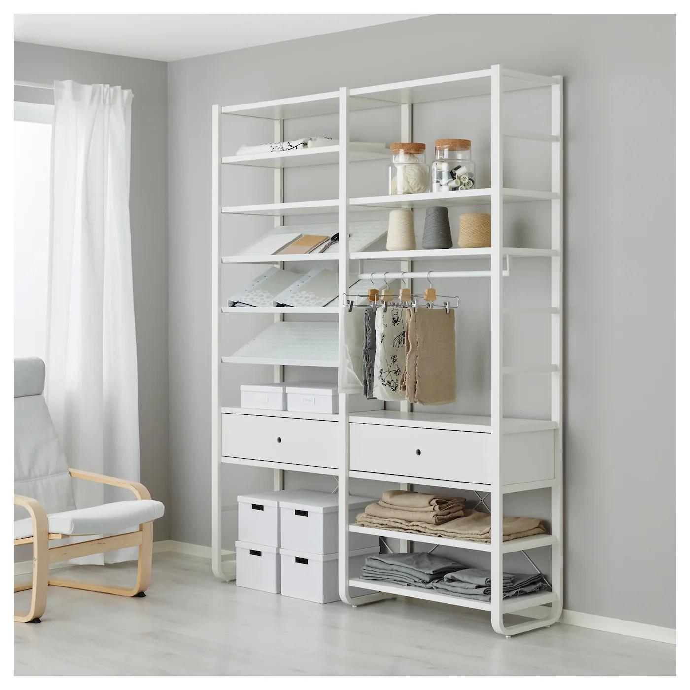 Ikea Küchen Systeme Bestå Combinaison Rangt Tv Vitrines Brun Noir
