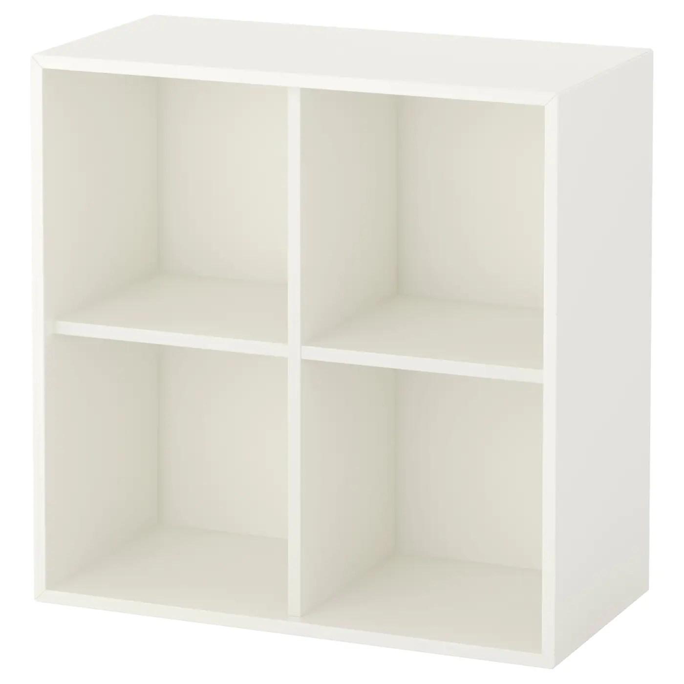 Witte Kast Met Vakken.Kast Met Vakken Eket Kast Met 4 Vakken Wit 70 X 35 X 70 Cm Ikea