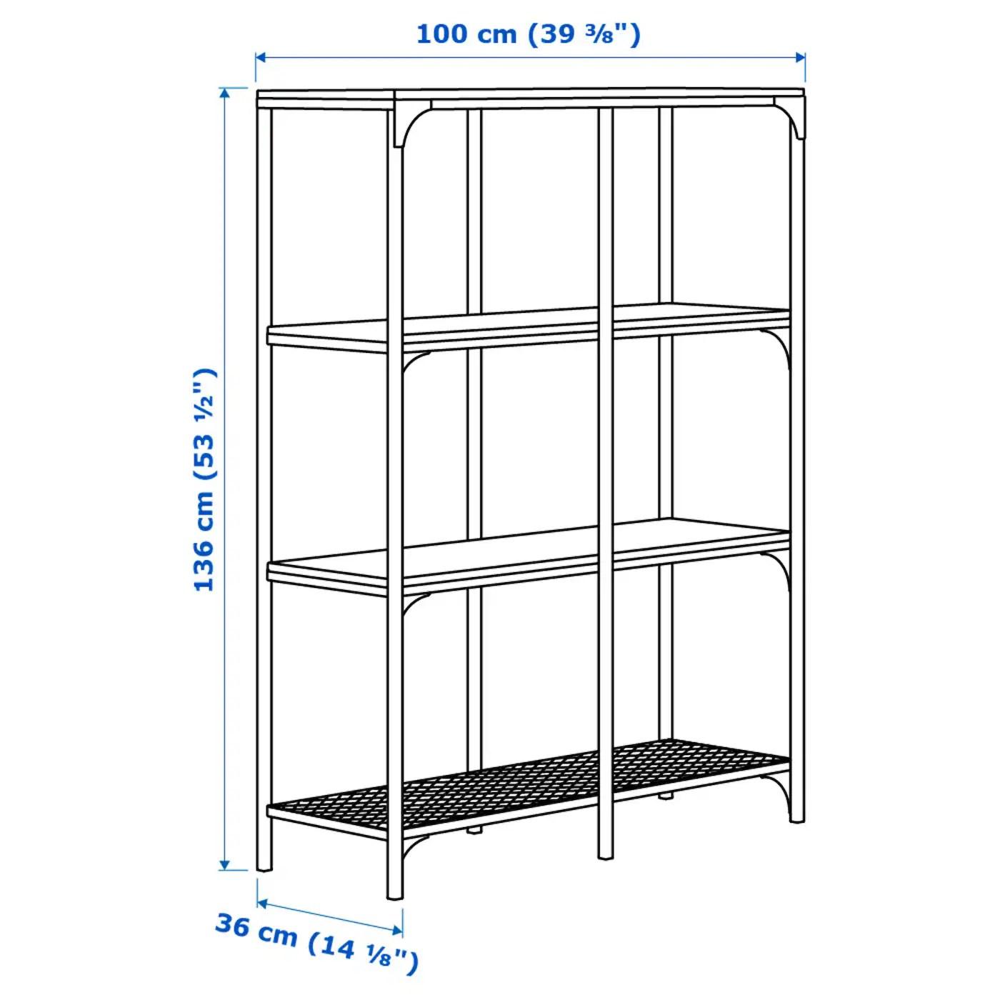 Stellingkast Zwart Metaal.Ikea Stellingkast Metaal Metalen Stellingkast Industrieel