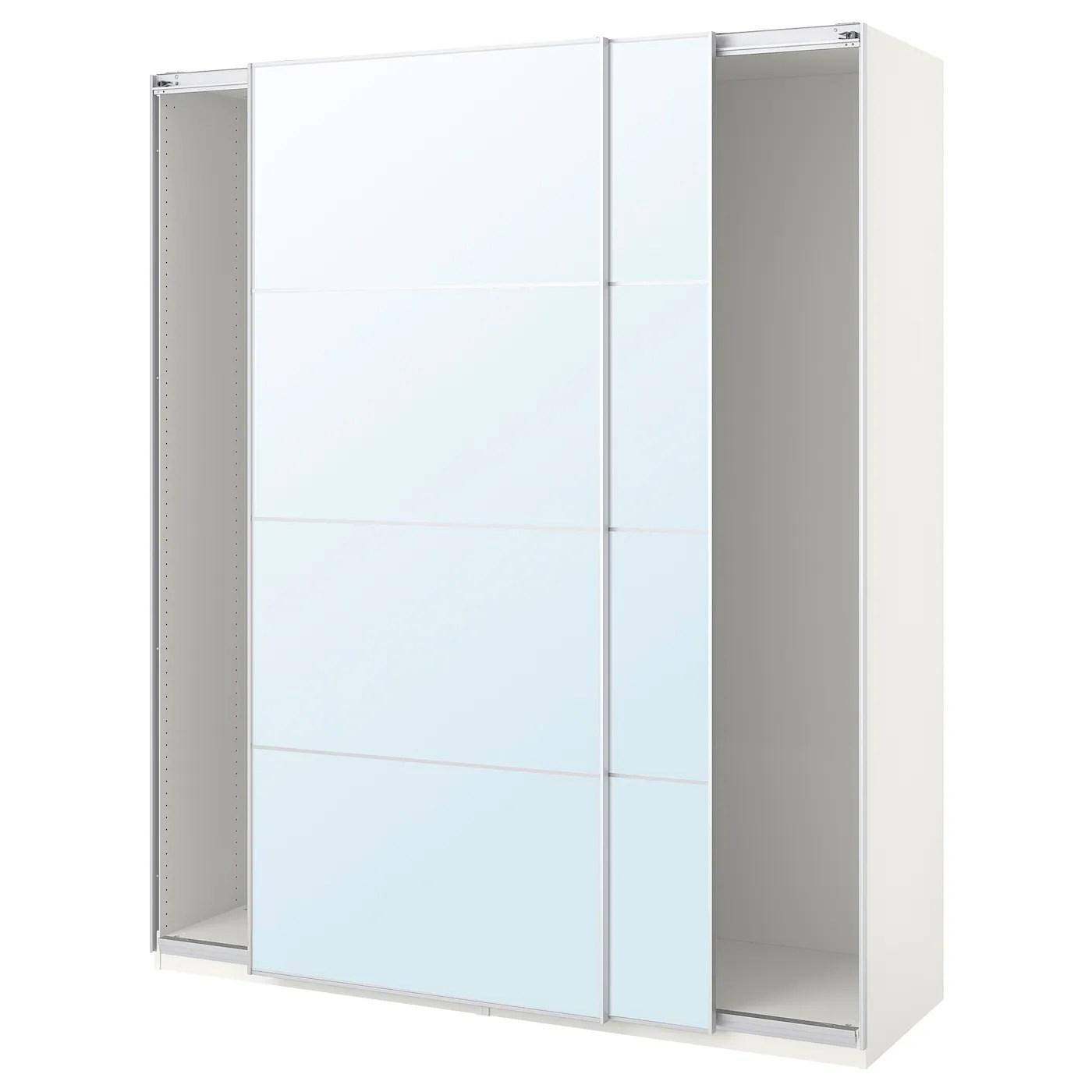 Witte Kledingkast Met Spiegel.Ikea Kledingkast Met Spiegel Ikea Kast Hemnes