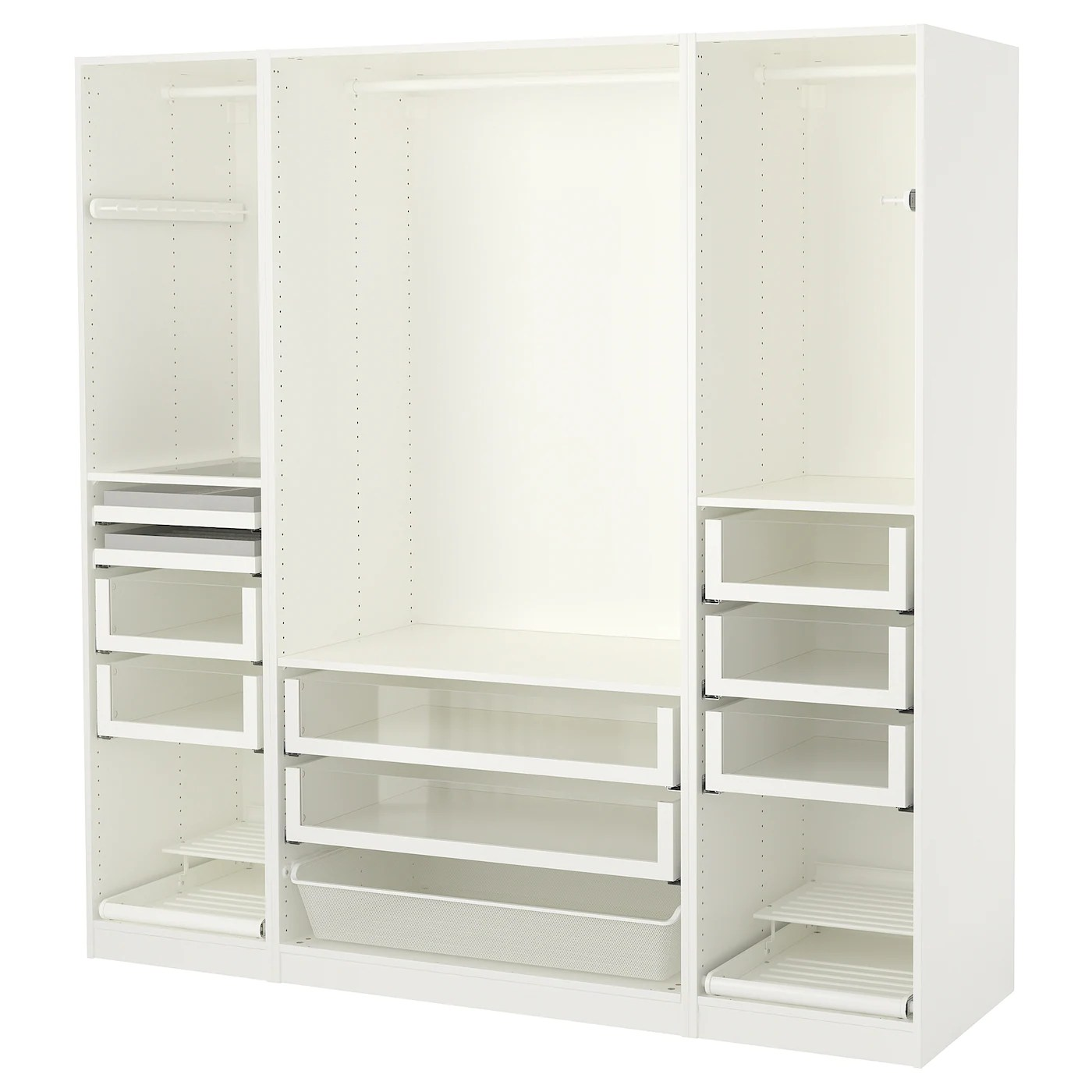 Garderobekast Pax Ikea.Ikea Pax Uk Fully Functional Ikea Fitted Wardrobe For Sloping Ceiling