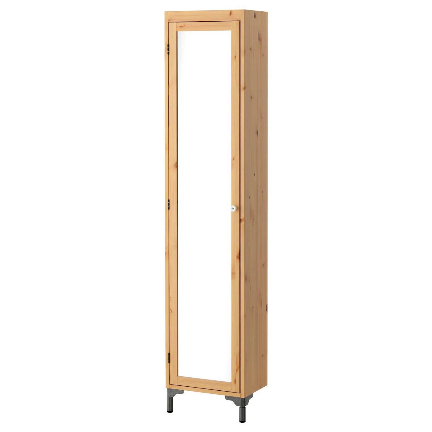 Badkamerkast Met Spiegeldeur.Ikea Kast Met Spiegel Hemnes Hoge Kast Met Spiegeldeur Zwartbruin