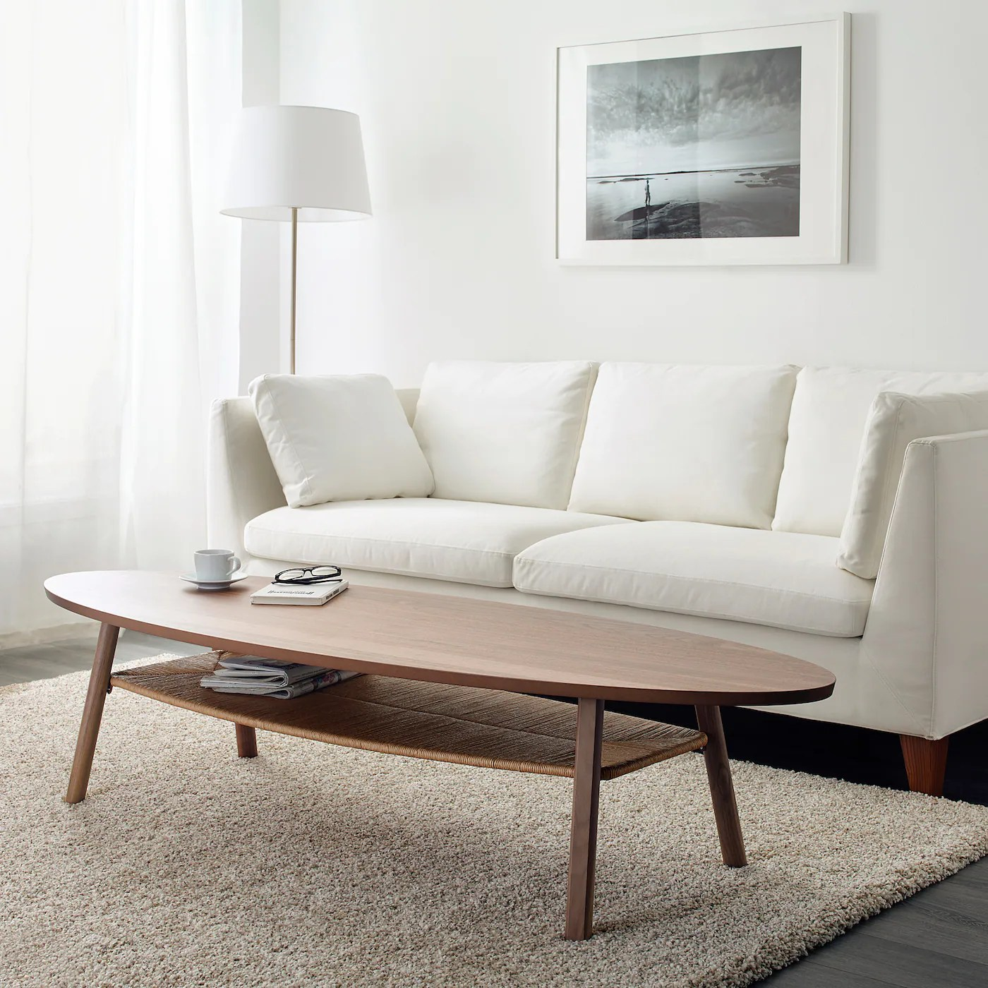 Ikea Stockholm Couchtisch Stockholm Coffee Table, Walnut Veneer, 180x59 Cm - Ikea Switzerland