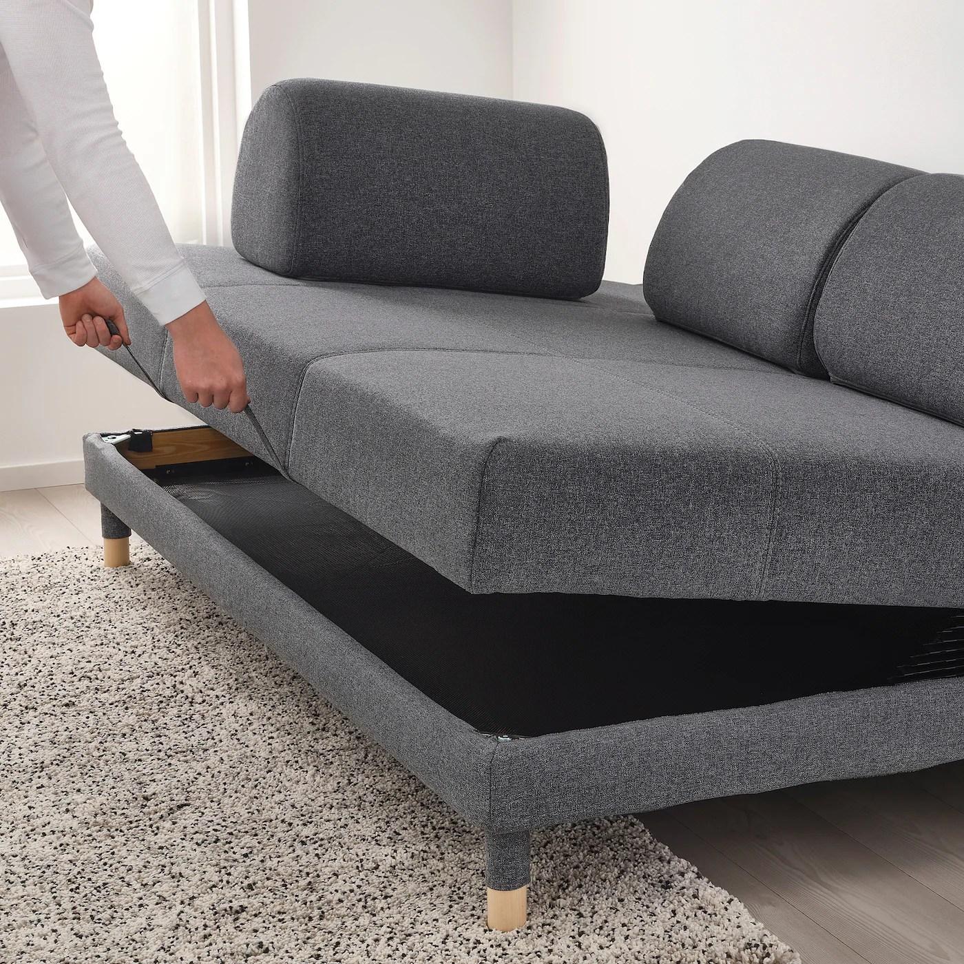 Canape Lit Ikea Gris Novocom Top