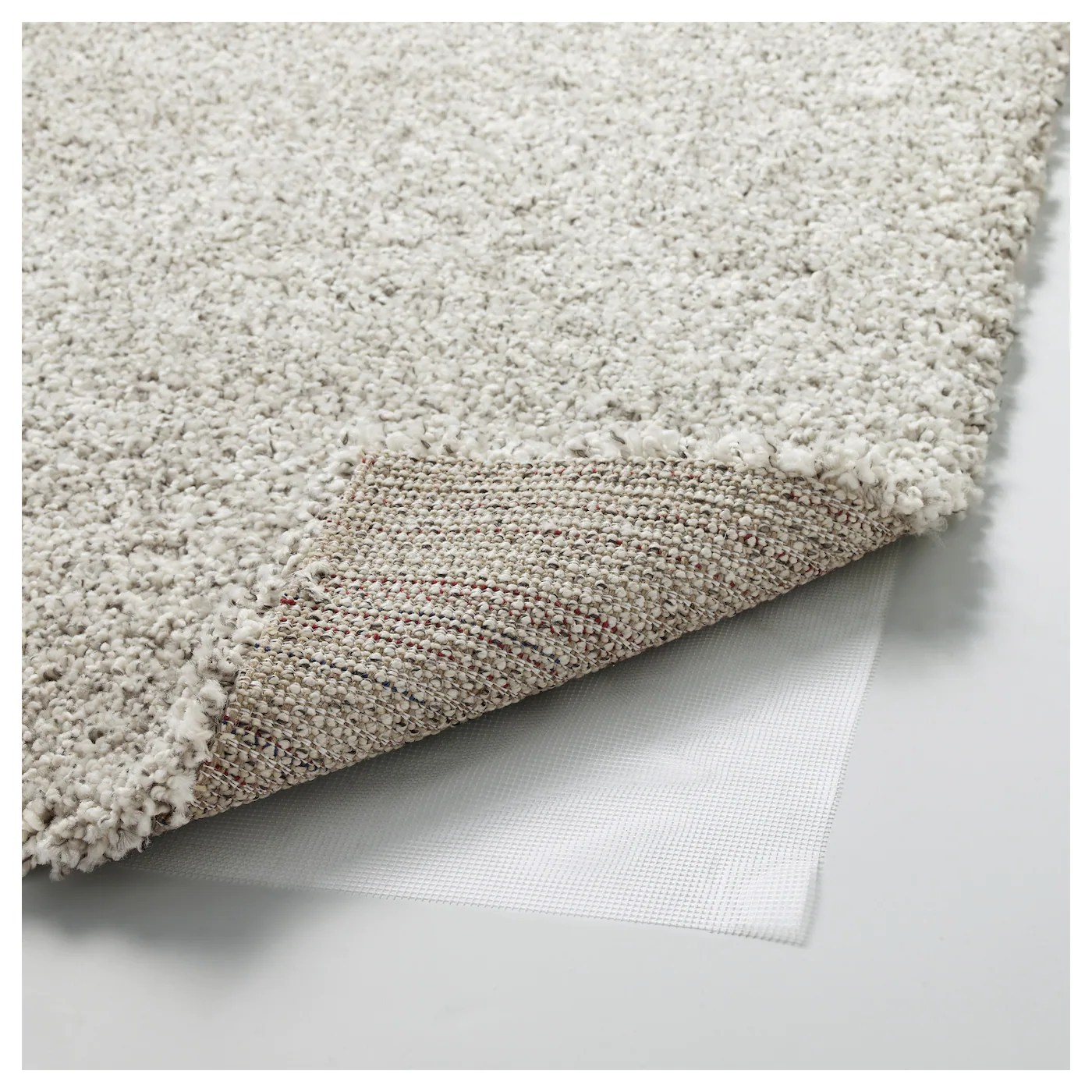 Ikea Teppich Off White Alhede Rug High Pile Off White 133x195 Cm Ikea