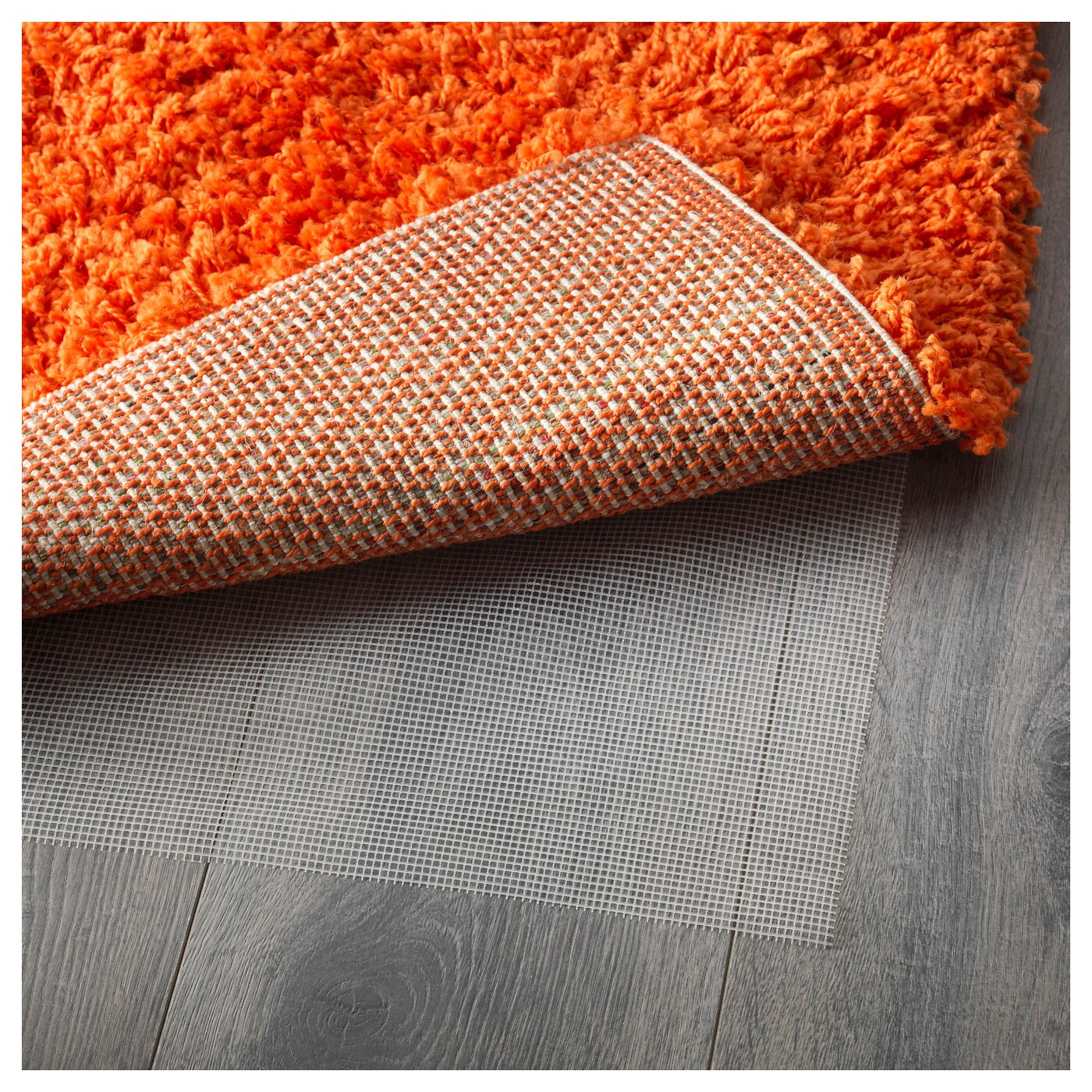 Ikea Teppich 80x80 Hampen Rug High Pile Orange 80x80 Cm Ikea