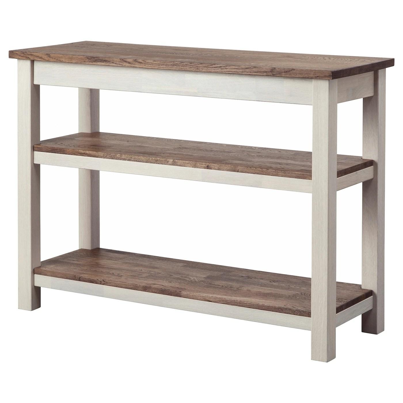 Kejsarkrona Sideboard Oakwhite 117 X 43 Cm  Ikea