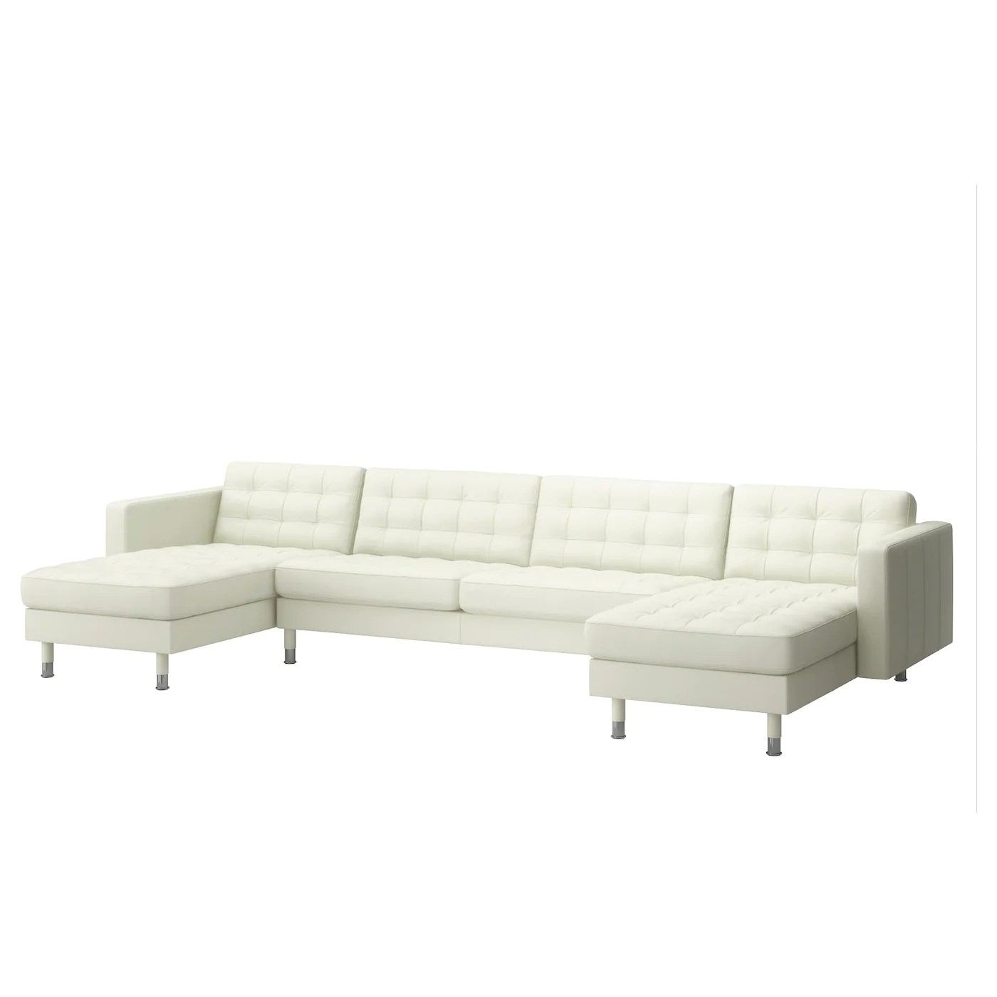 Ikea Landskrona Sofa Landskrona 5 Seat Sofa With Chaise Longues Grann Bomstad