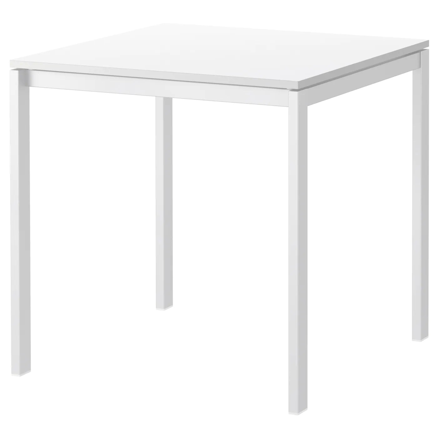 Melltorp Table White 75 X 75 Cm Ikea