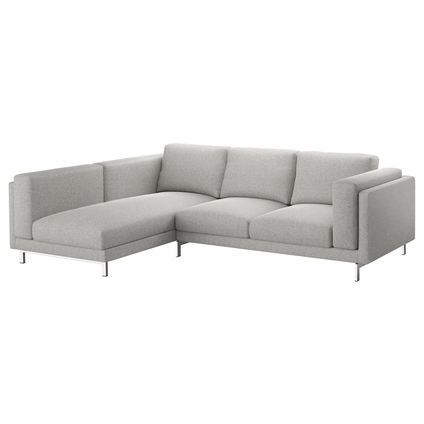 Ikea Sofa Nockeby Test Nockeby 3 Seat Sofa With Chaise Longue Left Tallmyra
