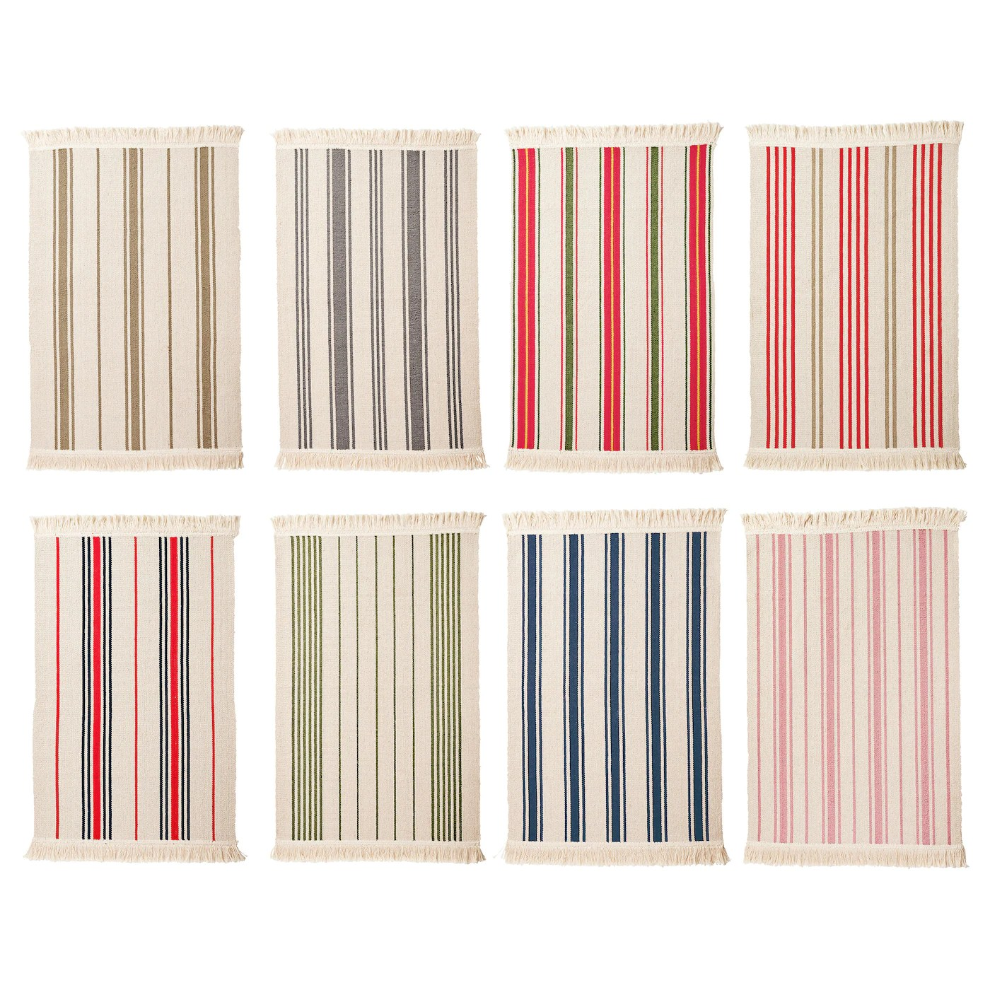 Signe Teppich Ikea Signe Rug Flatwoven Assorted Colours 55 X 85 Cm Ikea