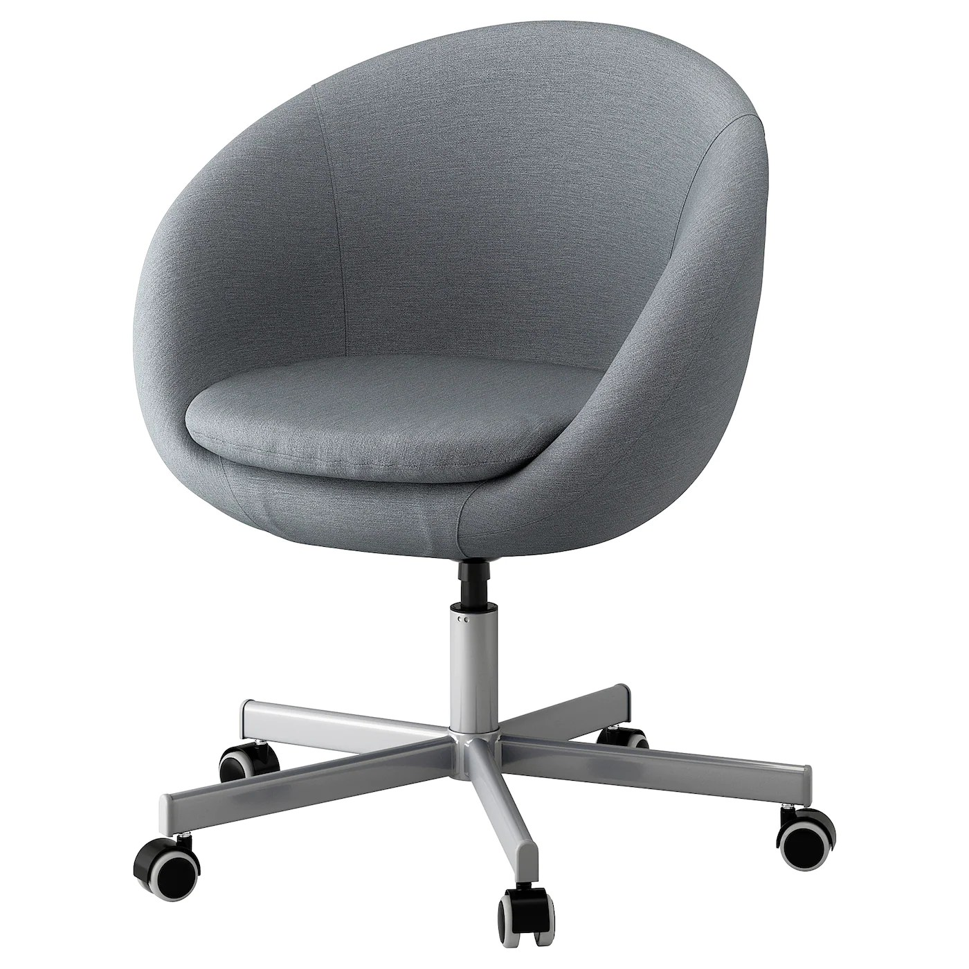 Swival Chairs Skruvsta Swivel Chair Flackarp Grey Ikea