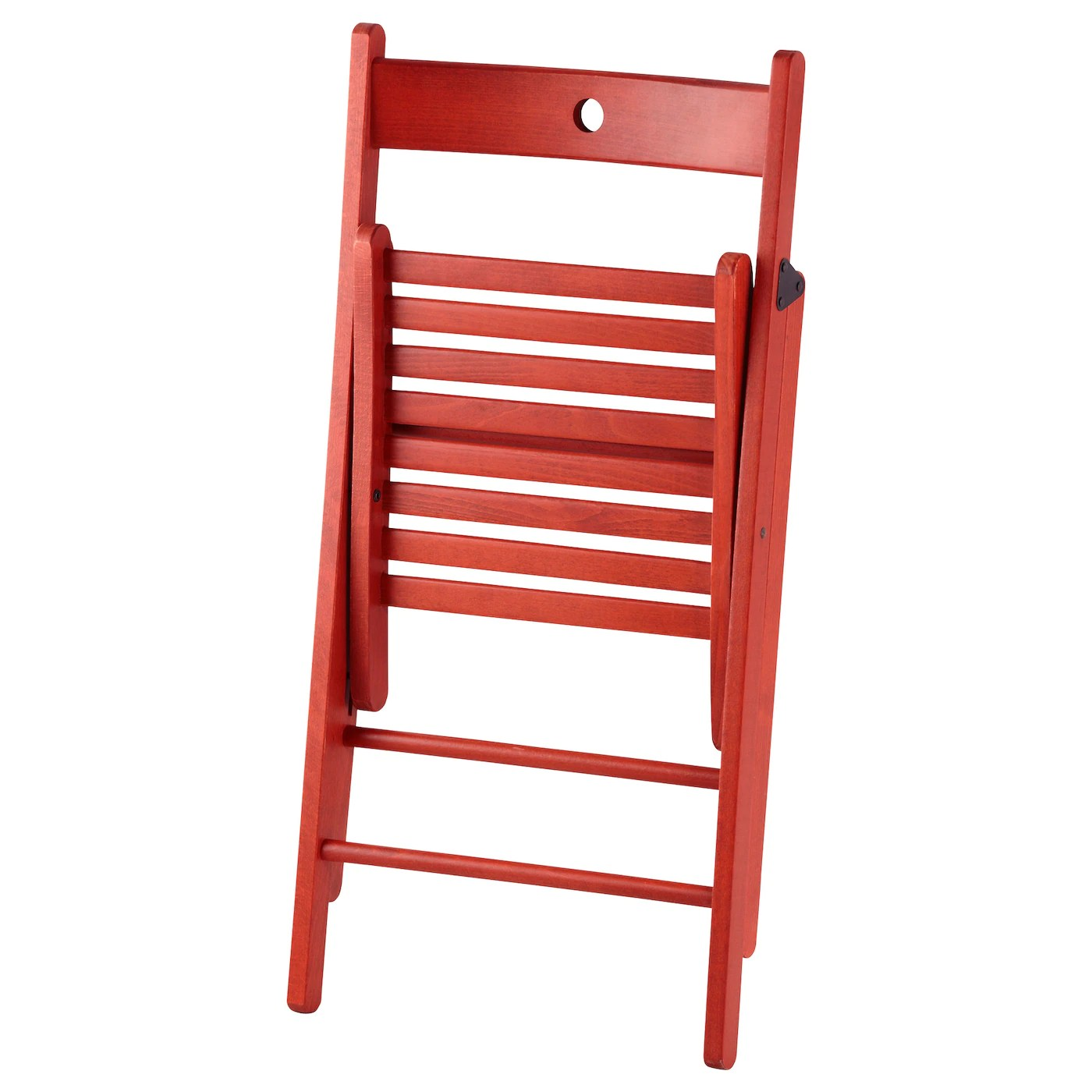 Foldable Chair Terje Folding Chair Red Ikea