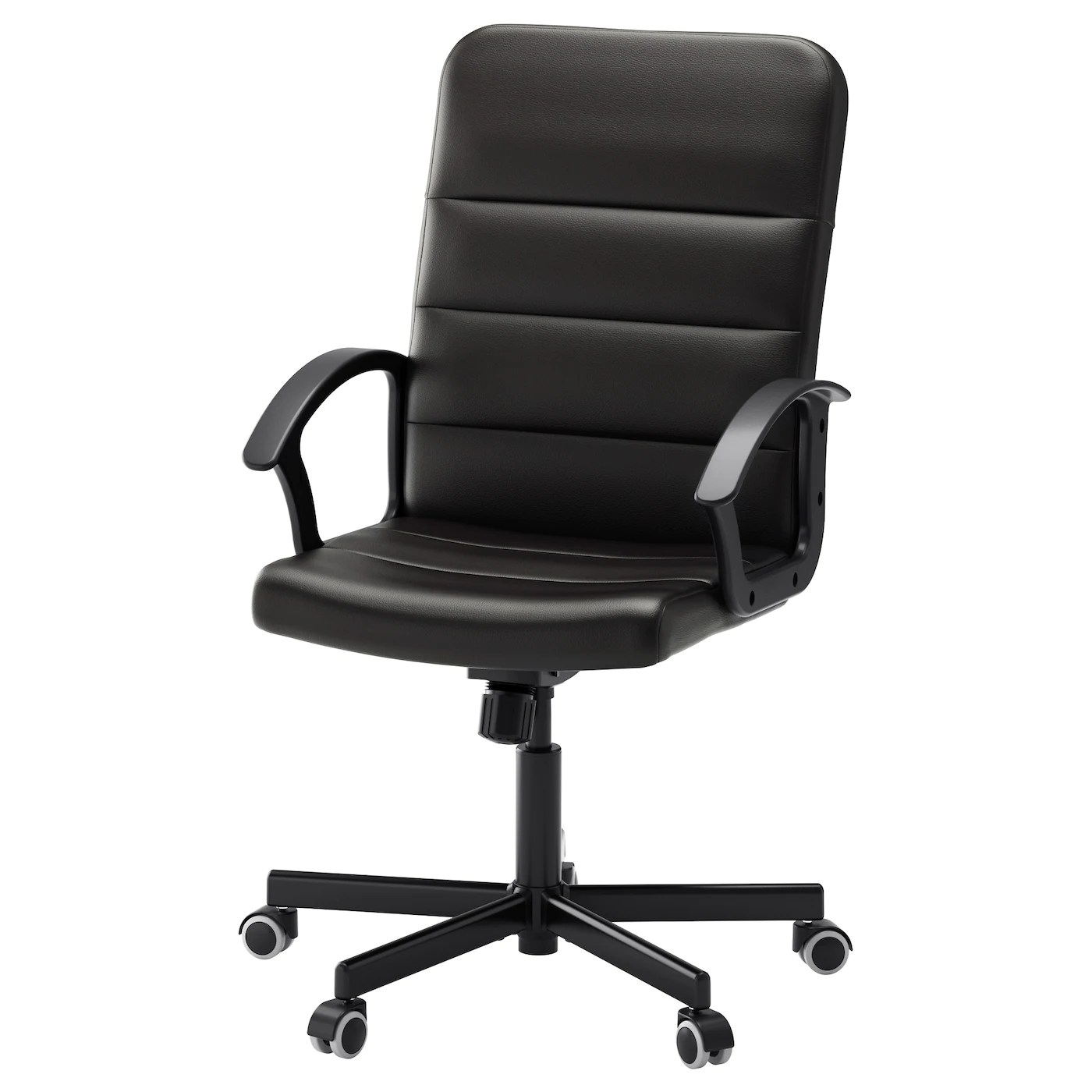 Black Swivel Chair Torkel Swivel Chair Bomstad Black Ikea