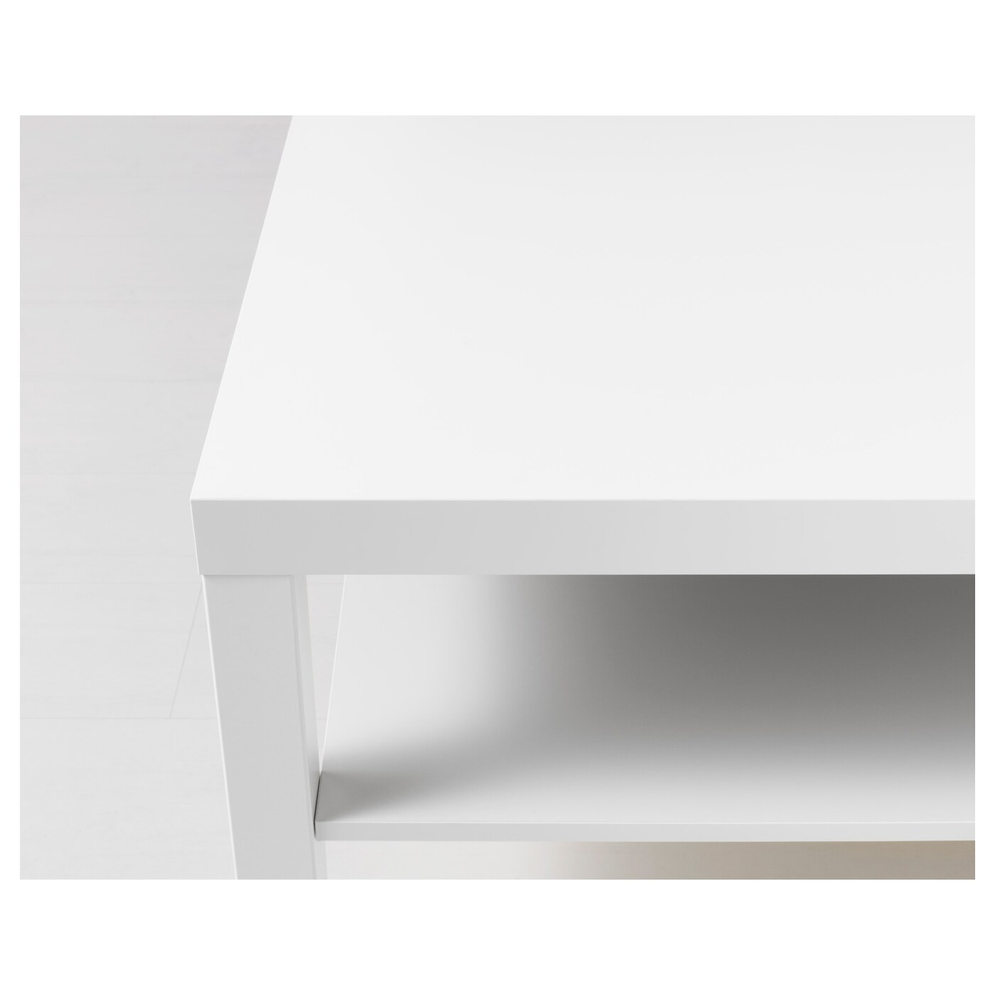 LACK Coffee table White 118 x 78 cm
