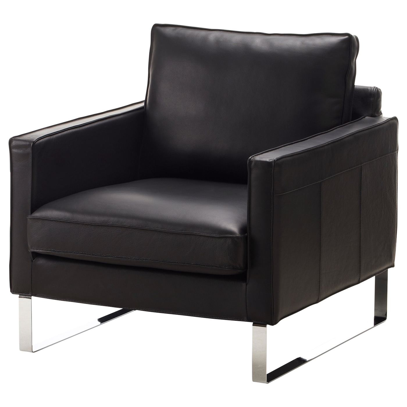 black leather chair ikea small accent living room chairs armchairs shop at ireland